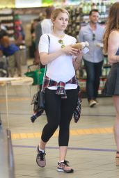 Dianna Agron at Erewhon Market in Hollywood - June 2014