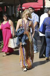 Dianna Agron at The Grove in West Hollywood - June 2014