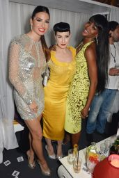 Dita Von Teese Night Out Style – Naomi Campbell's Birthday Party – May 2014