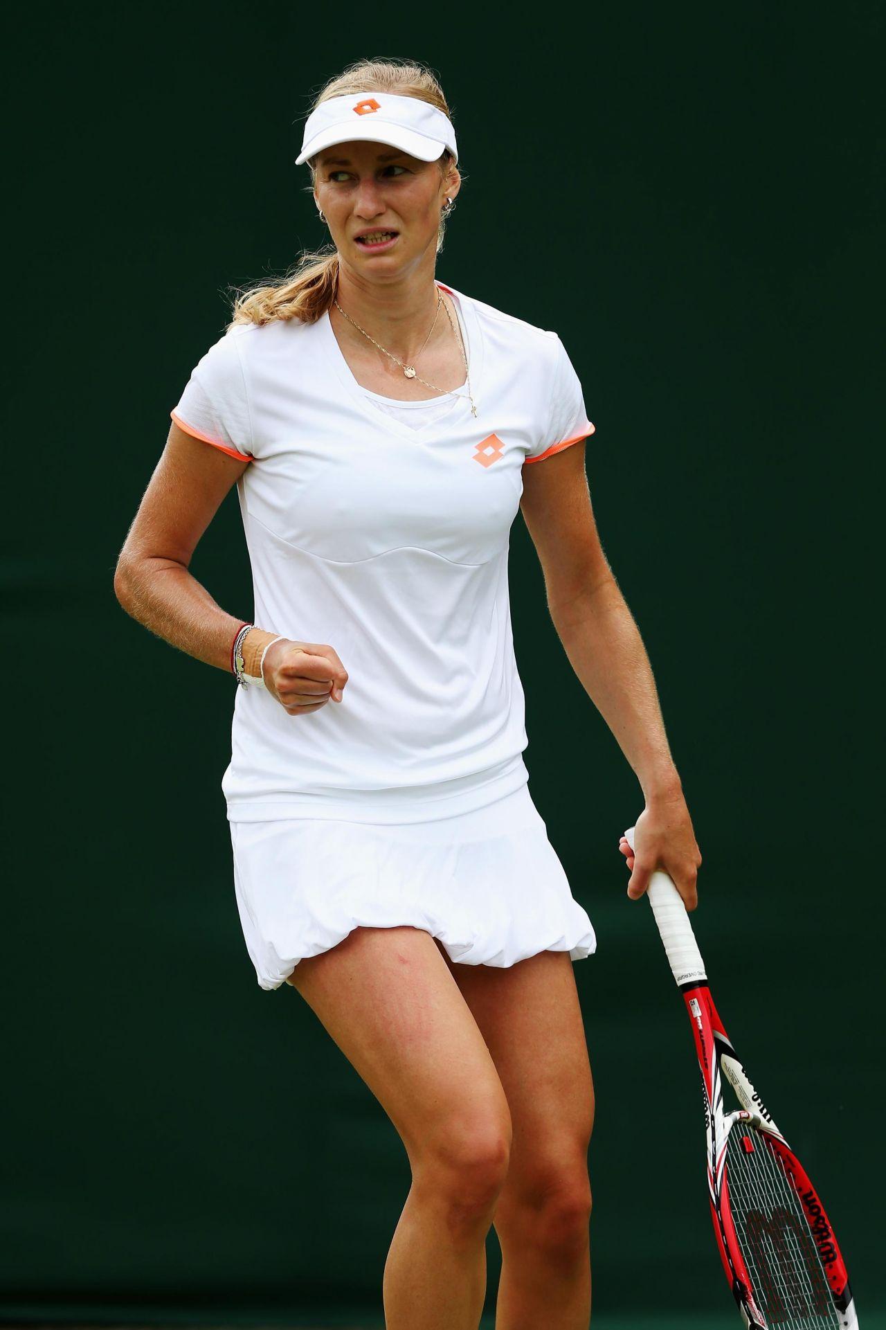 Ekaterina Makarova Wimbledon Tennis Championships 2014