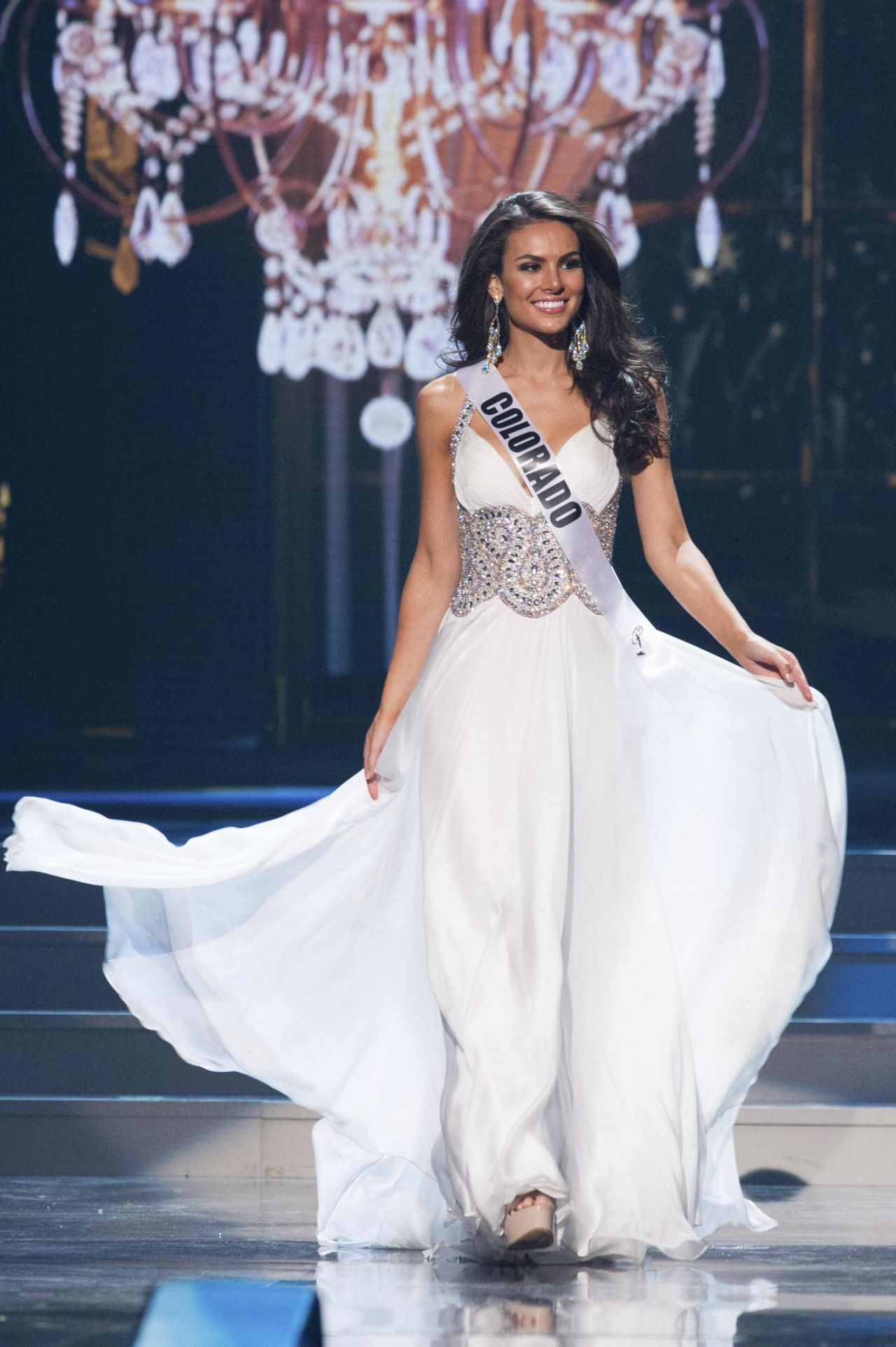Eleanna Livaditis (Colorado) - Miss USA Preliminary Competition - June 2014