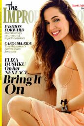 Eliza Dushku - The Improper Bostonian Magazine July 2014 Issue