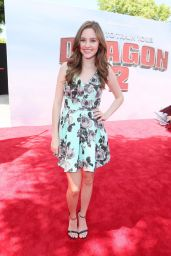 Ella Wahlestedt at 'How To Train Your Dragon 2′ Premiere in Los Angeles