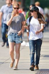Ellen Page and Kate Mara Out in New York City - June 2014