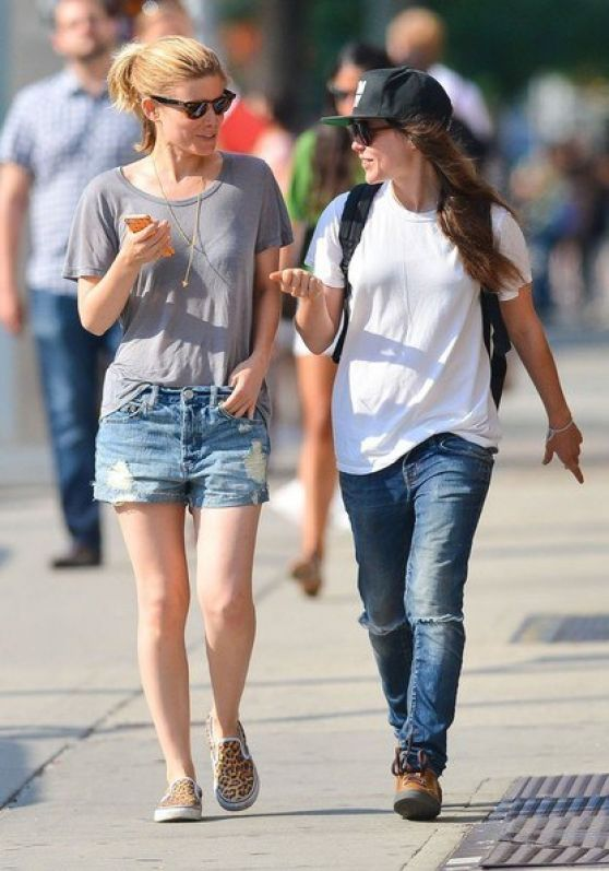 Ellen Page And Kate Mara Out In New York City June 2014