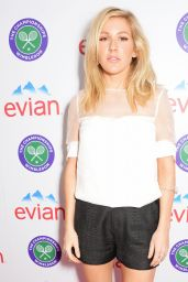 Ellie Goulding - Evian Live Young Suite in Wimbledon (2014)