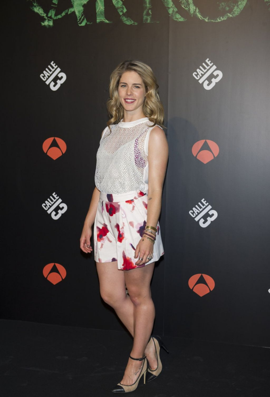 Emily Bett Rickards Arrow Tv Series Photocall In Madrid