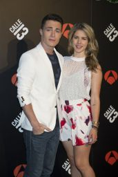 Emily Bett Rickards - Arrow TV Series Photocall in Madrid - June 2014