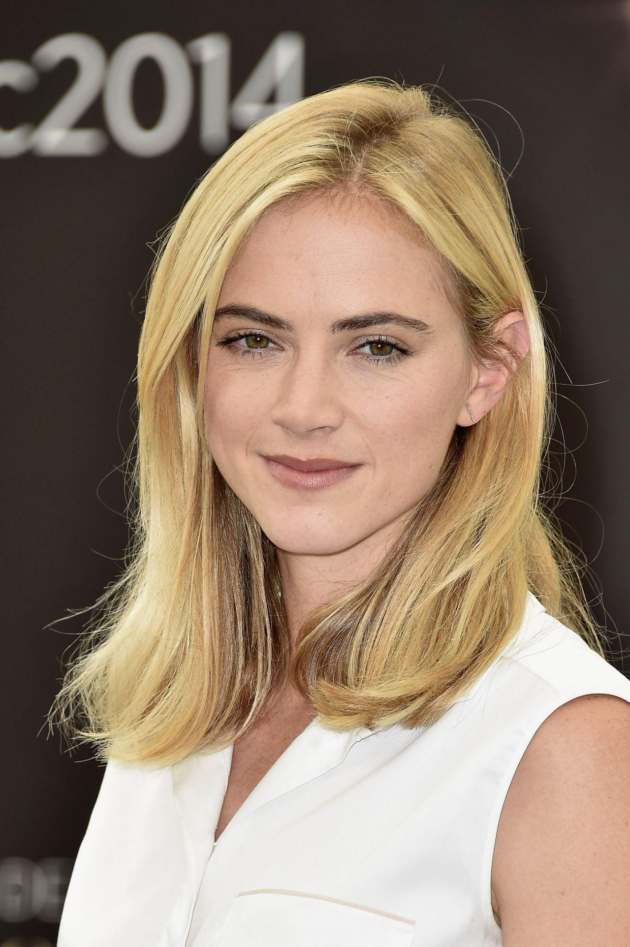 Emily Wickersham on Red Carpet - 2015 Monte Carlo TV