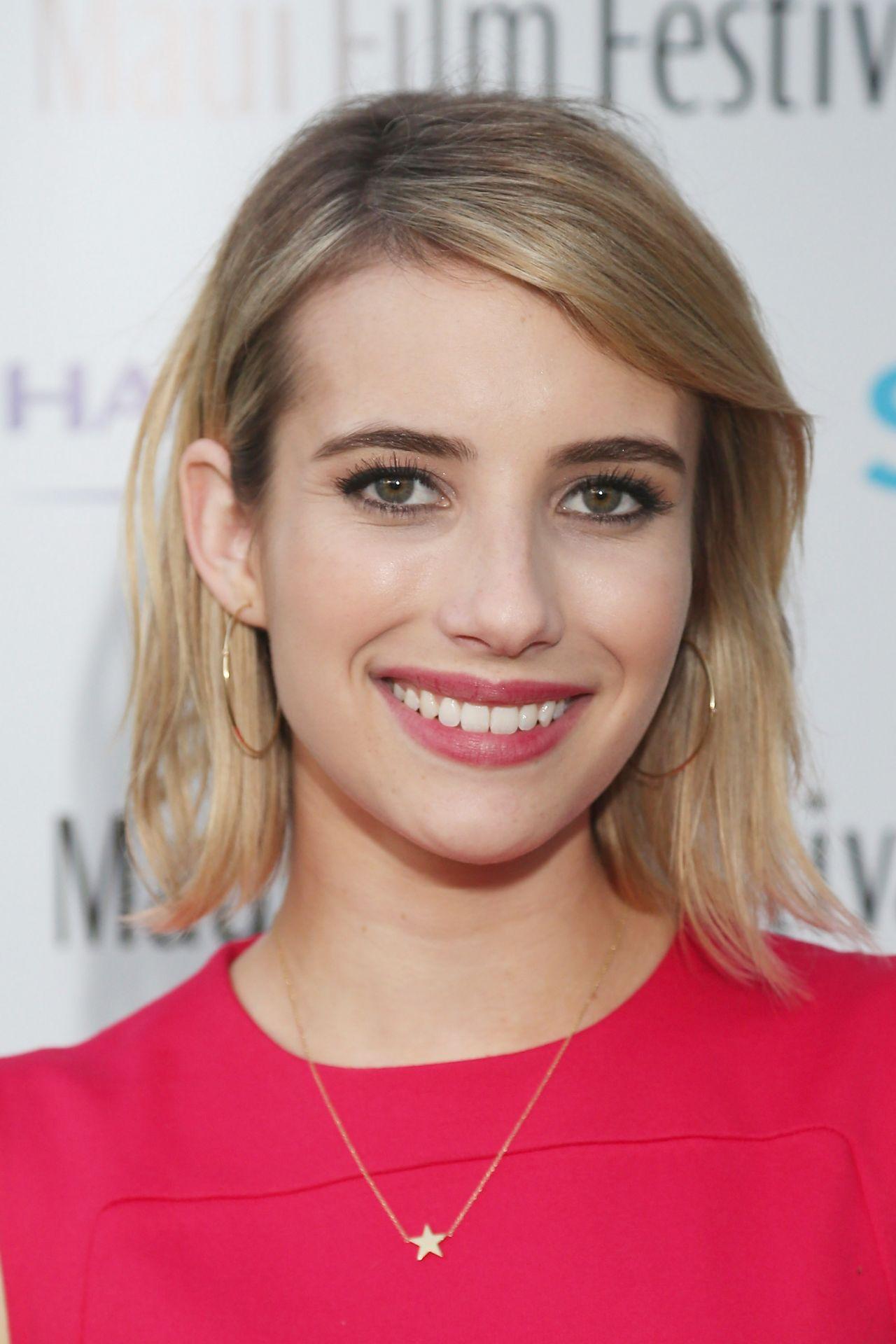 Emma Roberts - 2014 Maui Film Festival Shining Star Award in Wailea ...