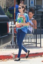 Emma Roberts in Jeans - Out in West Hollywood - June 2014