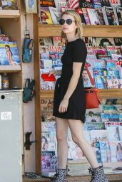 Emma Roberts - Out in LA - May 2014