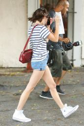 Emma Roberts Out Shopping in West Hollywood - June 2014