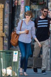 Emma Stone – Out in New York City - June 2014