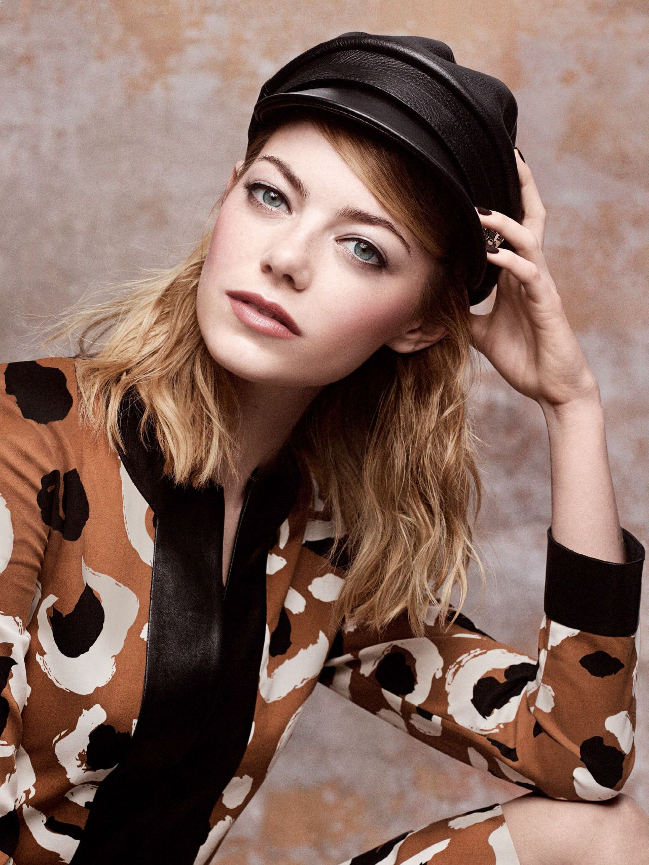 Emma Stone - Photoshoot for Vogue Magazine May 2014 (by ...