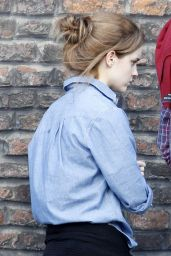 Emma Watson Out in North London - June 2014