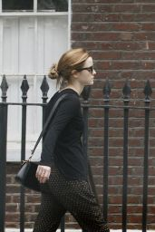 Emma Watson Street Style - Out in North London - June 2014