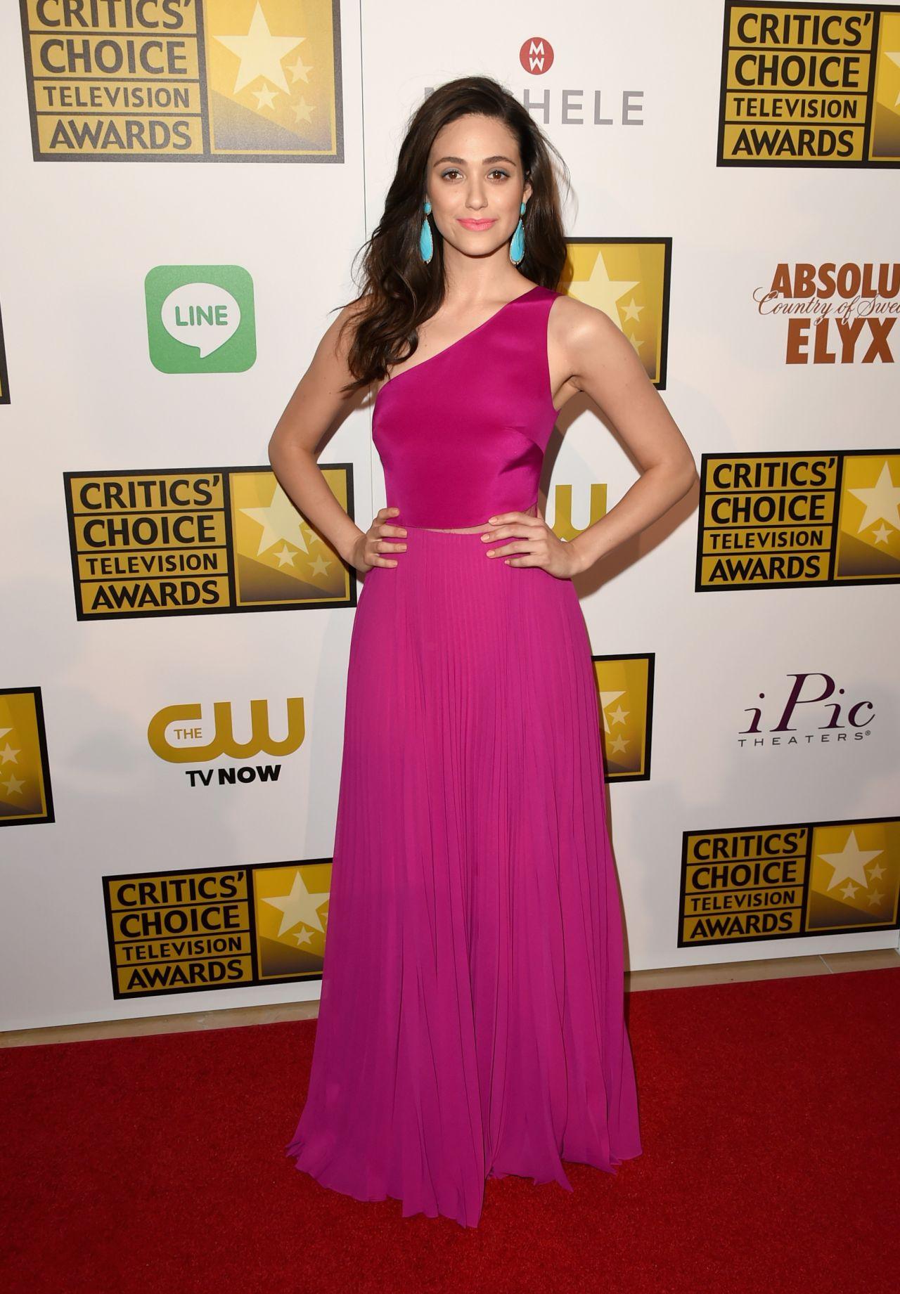 Emmy Rossum – 2014 Critics Choice Television Awards in ... Emmyschoice