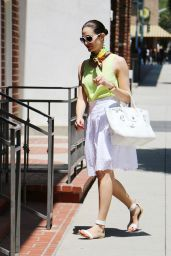 Emmy Rossum Casual Style - Out in Beverly Hills - June 2014