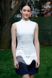 Emmy Rossum - Stella McCartney Spring 2015 Presentation in New York City - June 2014