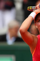 Eugenie Bouchard – 2014 French Open at Roland Garros – Quarterfinals