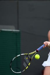 Eugenie Bouchard – Wimbledon Tennis Championships 2014 – 1st Round