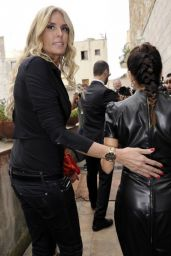 Eva Longoria in Leather Dress - 2014 Taormina Film Festival in Italy