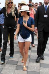 Eva Longoria - Walking the Streets of Taormina (Italy)