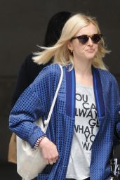 Fearne Cotton Casual Style - BBC Radio 1 Studios in London - June 2014
