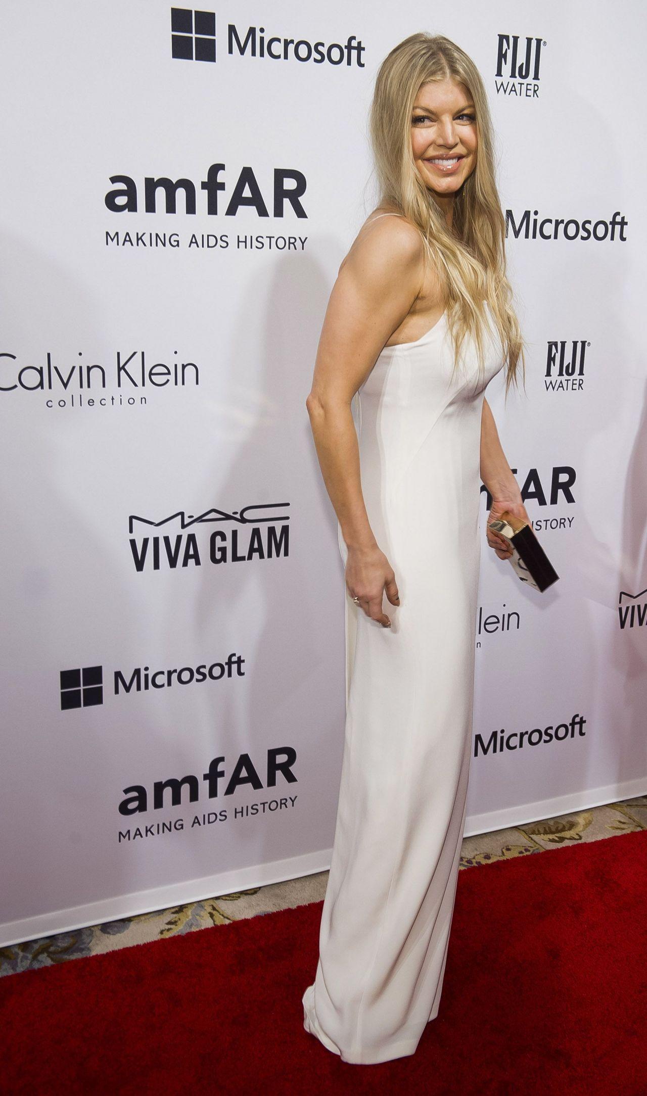 Fergie – 2014 amfAR's Inspiration Gala in New York City