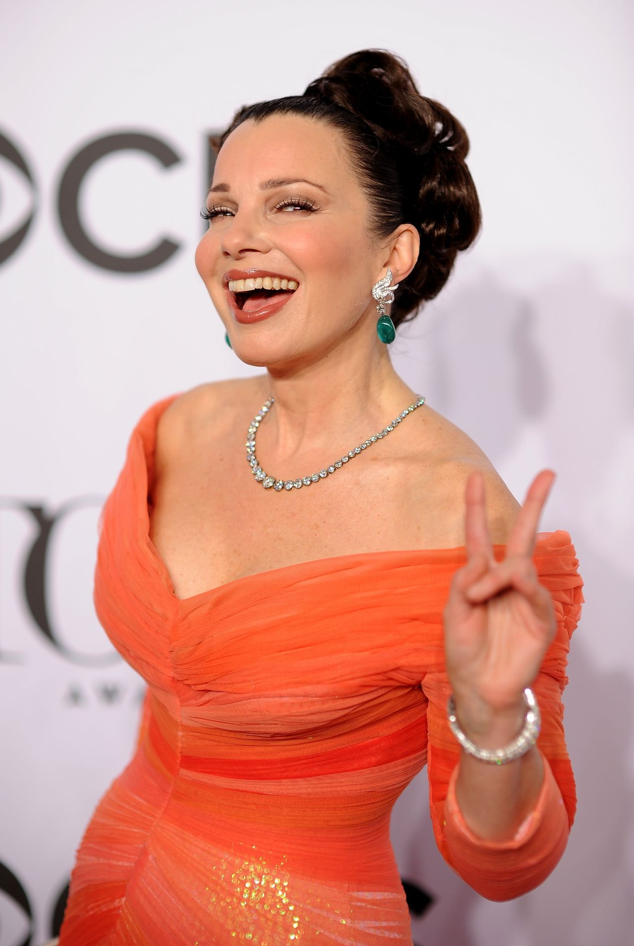 Fran Drescher 2014 Tony Awards In New York City