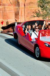 Geena Davis in Disneyland in Anaheim - June 2014