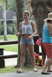 Gemma Atkinson in a Bikini - on Holiday With Her Boyfriend in Bali Indonesia - June 2014
