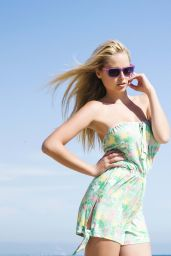 Genevieve Morton - Nathan Paul Summer 2014 Swimwear Photoshoot