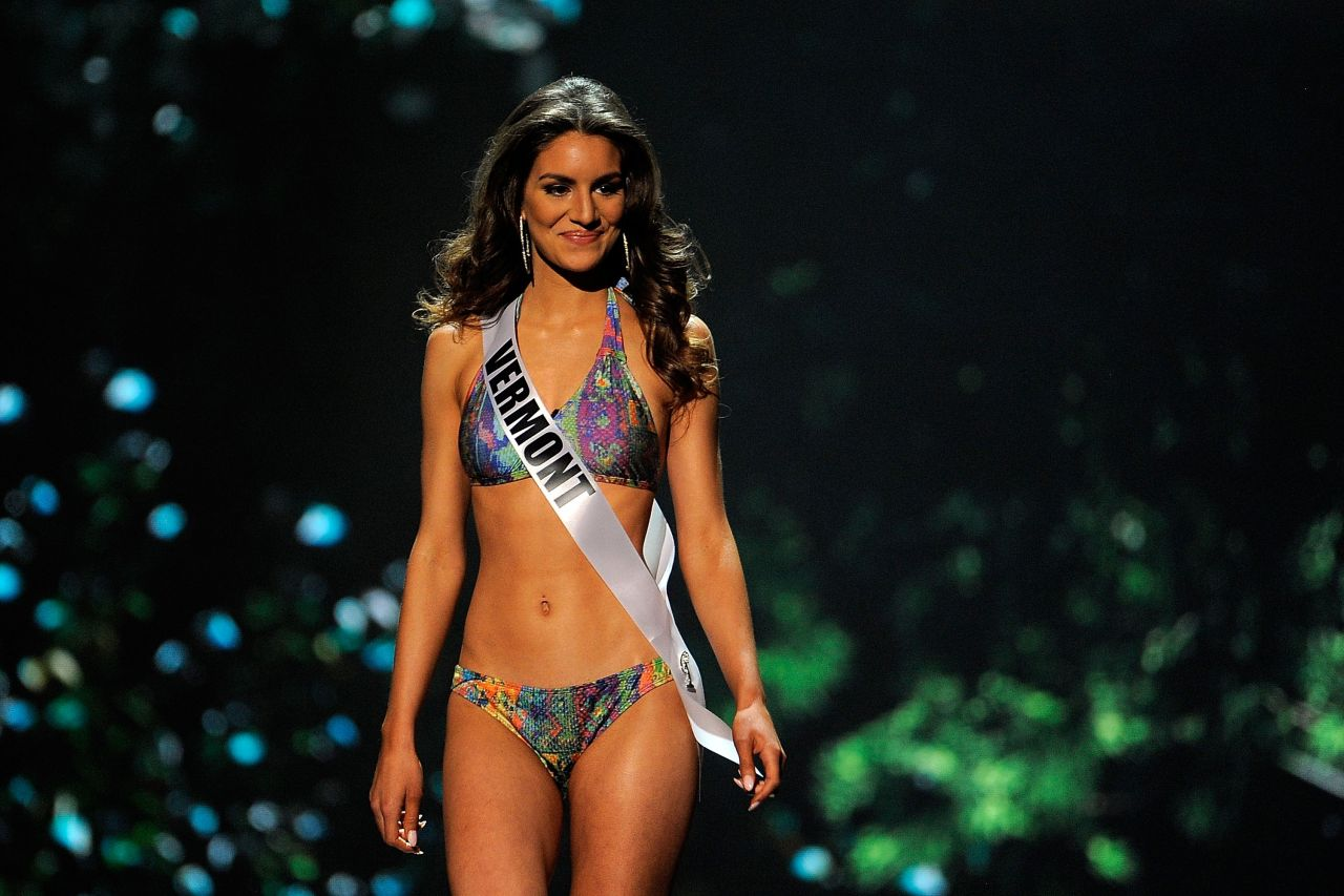 Gina Bernasconi (Vermont) - Miss USA Preliminary Competition - June 2014