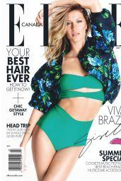 Gisele Bundchen - Elle Magazine (Canada) July 2014 Issue