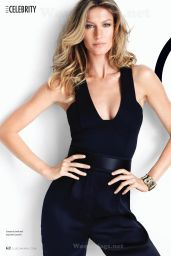 Gisele Bundchen - Elle Magazine (Canada) July 2014 Issue