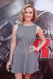 Greer Grammer at 'How To Train Your Dragon 2′ Premiere in Los Angeles
