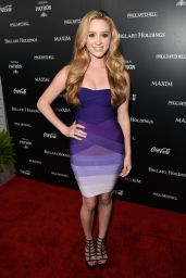Greer Grammer Attends the Maxim