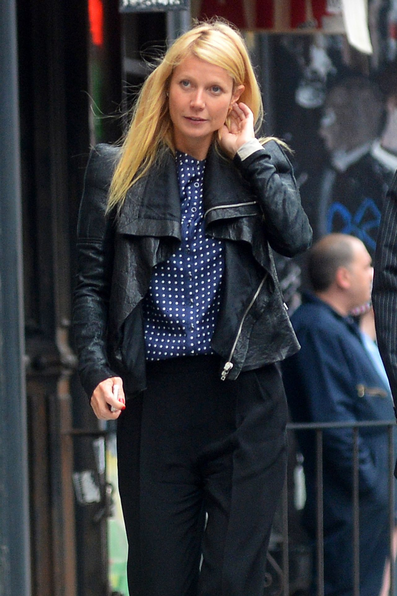 Gwyneth Paltrow in New York City - Leaving Emilio Ballato Rrestaurant in SOHO