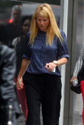Gwyneth Paltrow in New York City - Leaving Emilio Ballato Rrestaurant in SOHO
