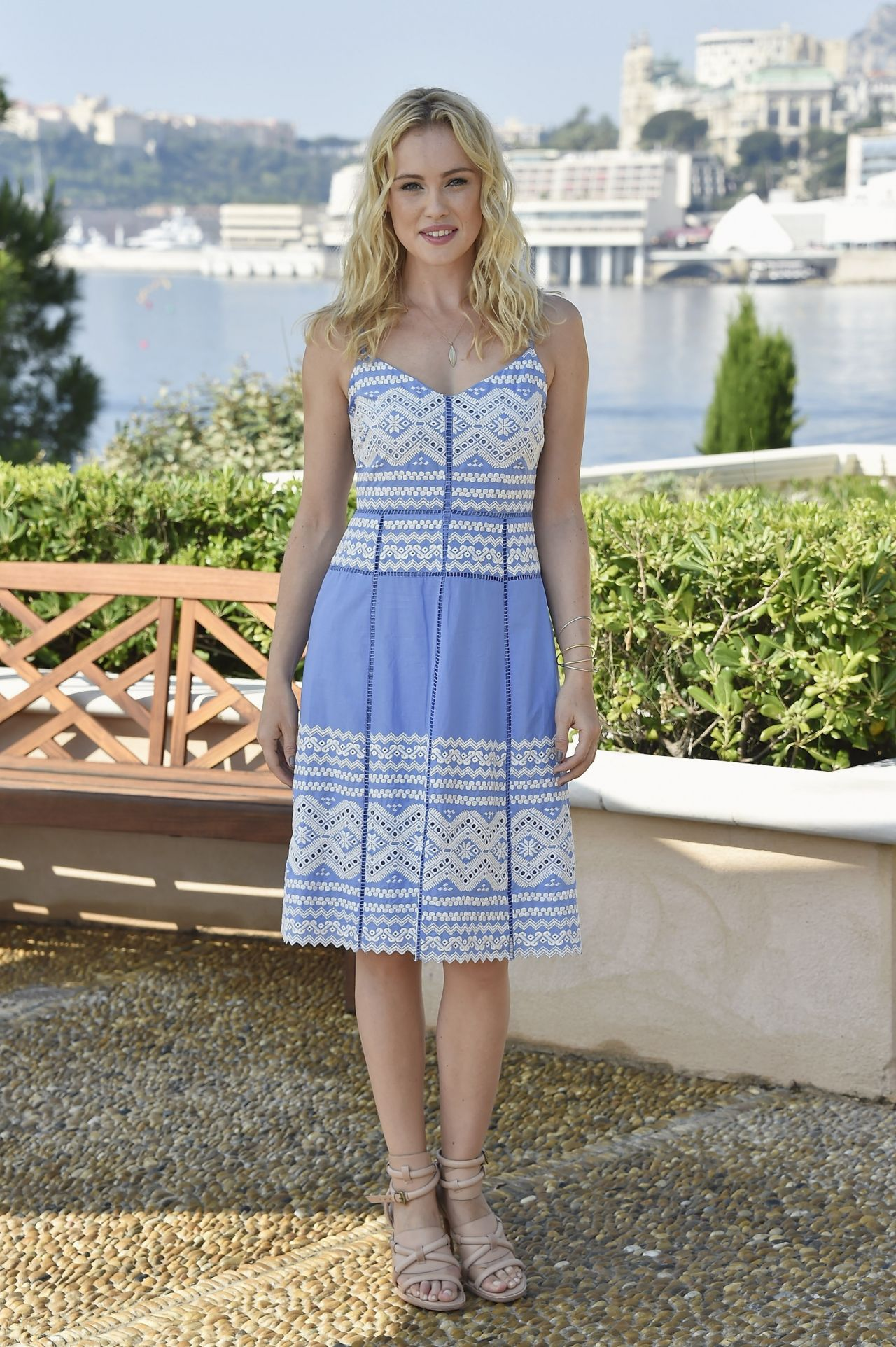 Hannah New - Black Sails Photocall at the 54th Monte Carlo ...