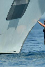 Hayden Panettiere in a Swimsuit - Yacht in St Tropez - June 2014