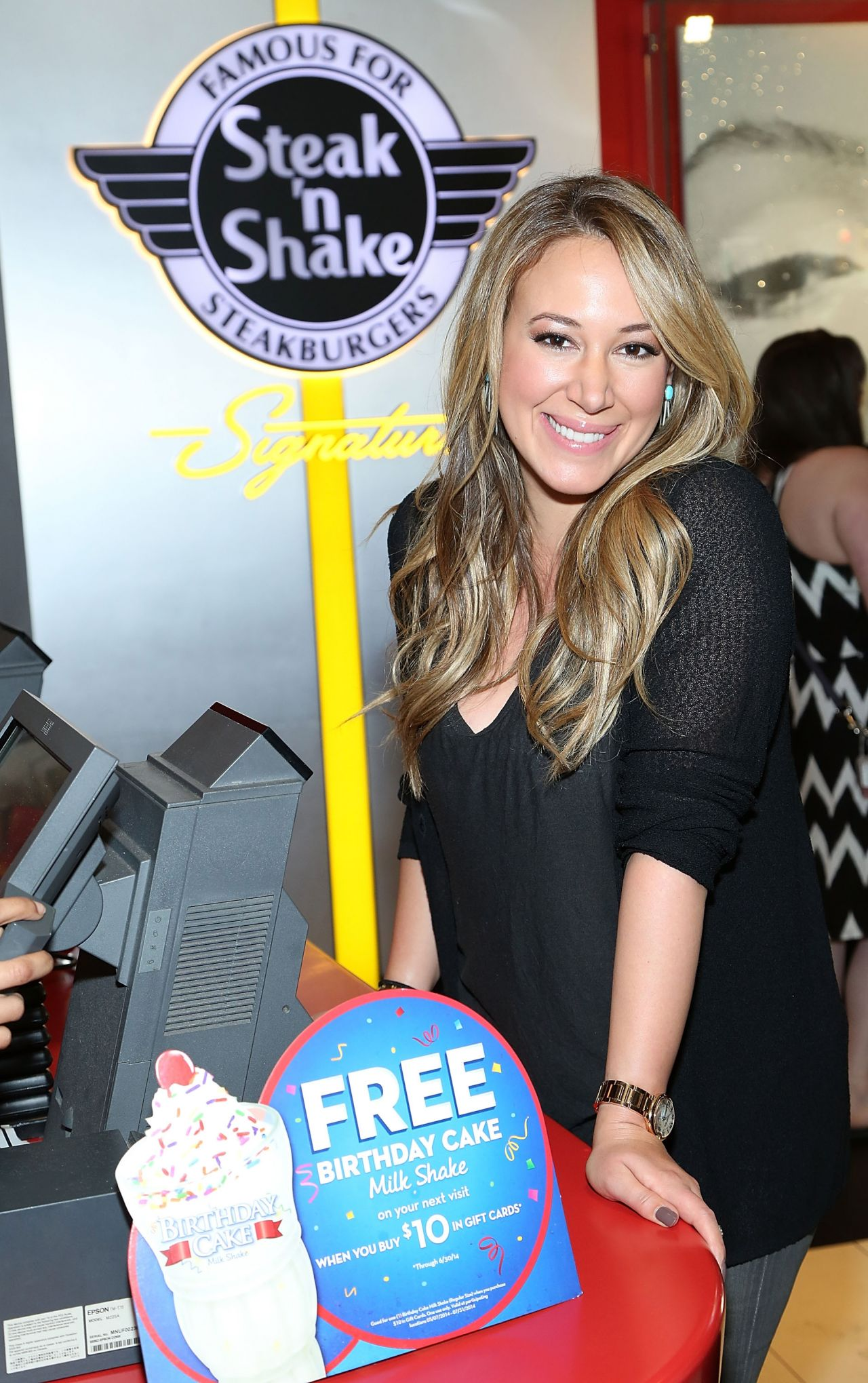Haylie Duff - Broadway Steak