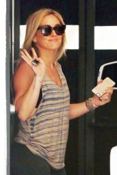 Hilary Duff at Rise Movement Gym in West Hollywood - June 2014