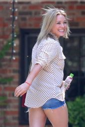 Hilary Duff Leggy - Out in Beverly Hills - June 2014