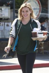 Hilary Duff Street Style - Out in West Hollywood - May 2014
