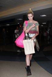 Ireland Baldwin at LAX Airport in Los Angeles - June 2014
