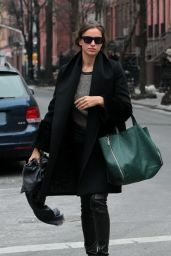 Irina Shayk Casual Style - West Village, NYC (June 2014)