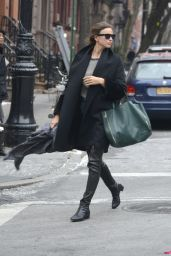 Irina Shayk Casual Style - West Village, NYC (June 2014)